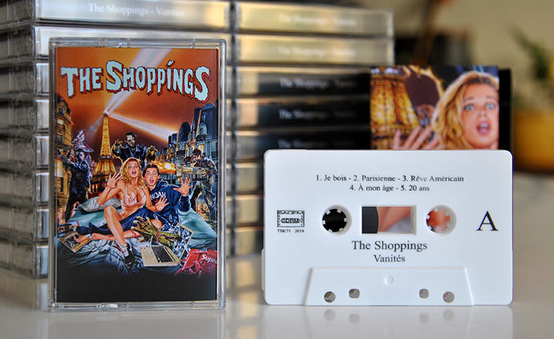 The Shoppings 'Vanités' - cassette